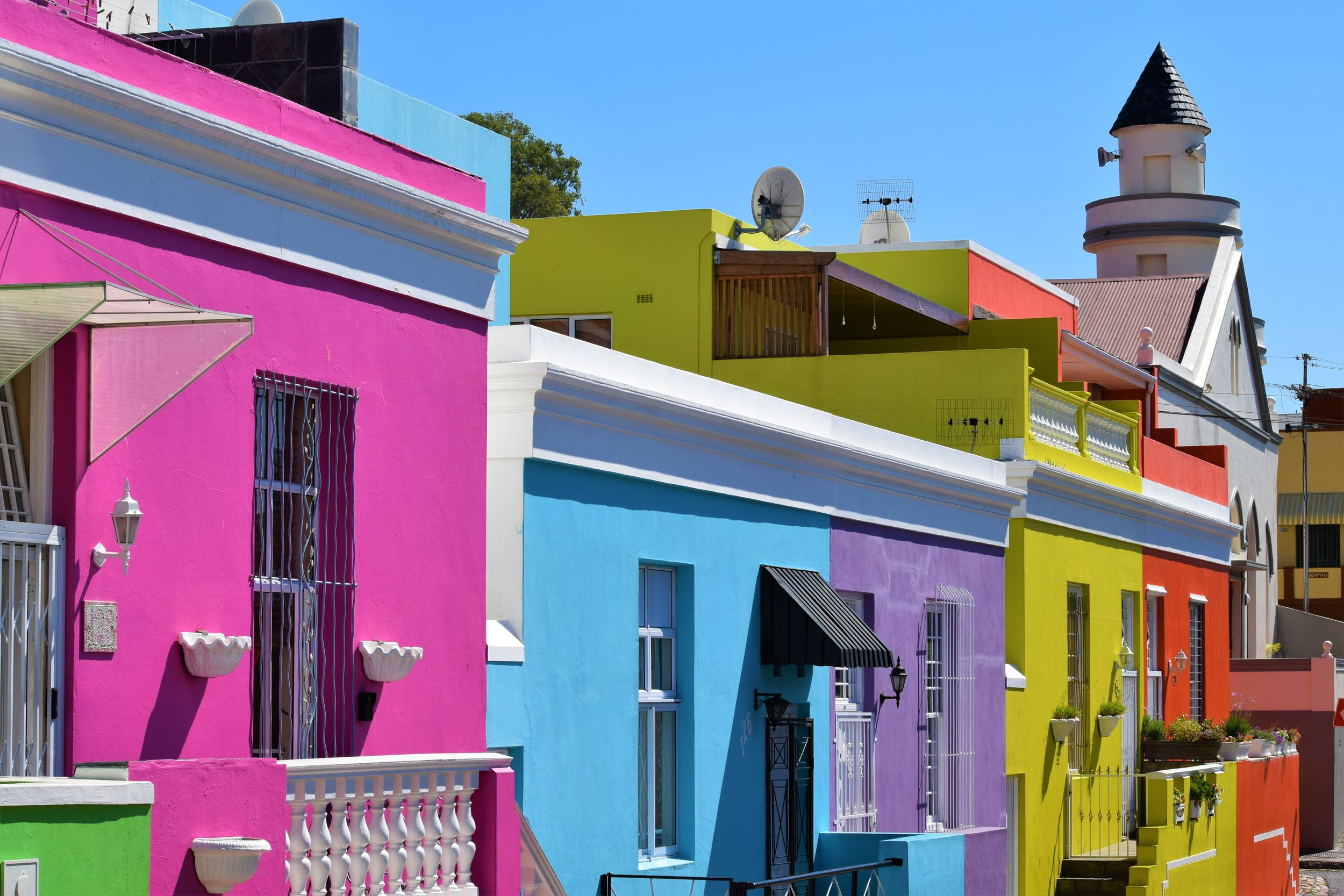 Bo Kaap, Cape Town, SA