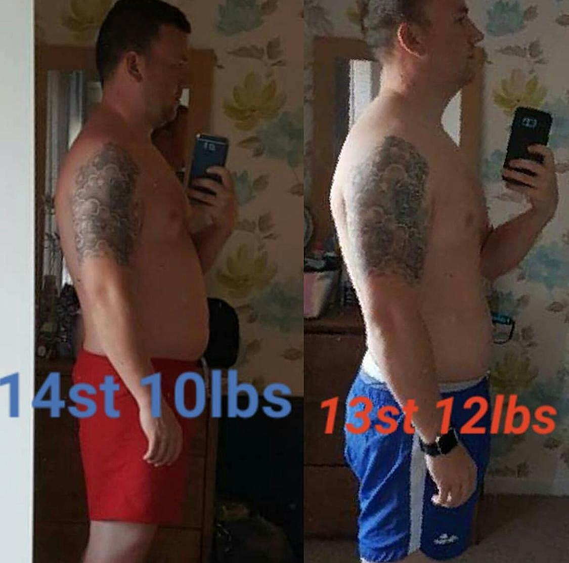 Meet Scott - 'Before I started I was very self-conscious about the way I looked in and out of clothes, Matt was very keen to help me help myself with his expert knowledge in exercise and nutrition. I have been very pleased with my progress over the last 6 weeks of working with Matt and would fully recommend anyone who feels the way I did to venture out and make that change too! Thank you for this brilliant opportunity Matt!