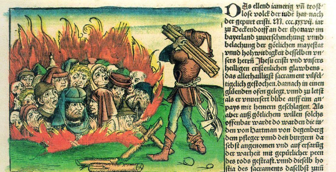 Judenfeindlichkeit Schedelsche Weltchronik, 1493.