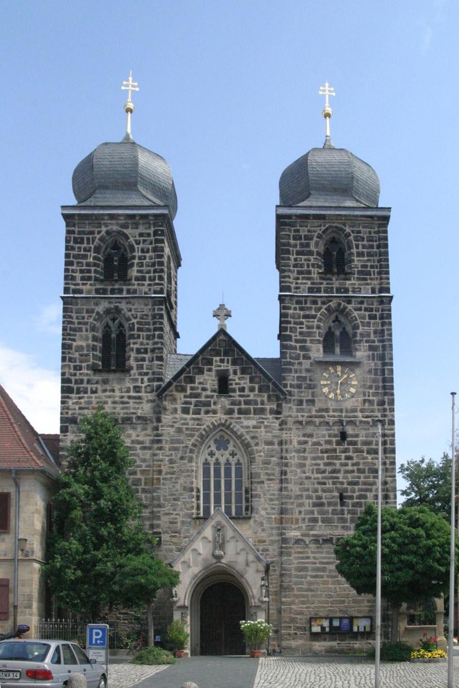 Pfarrkirche St. Gangolf in Bamberg