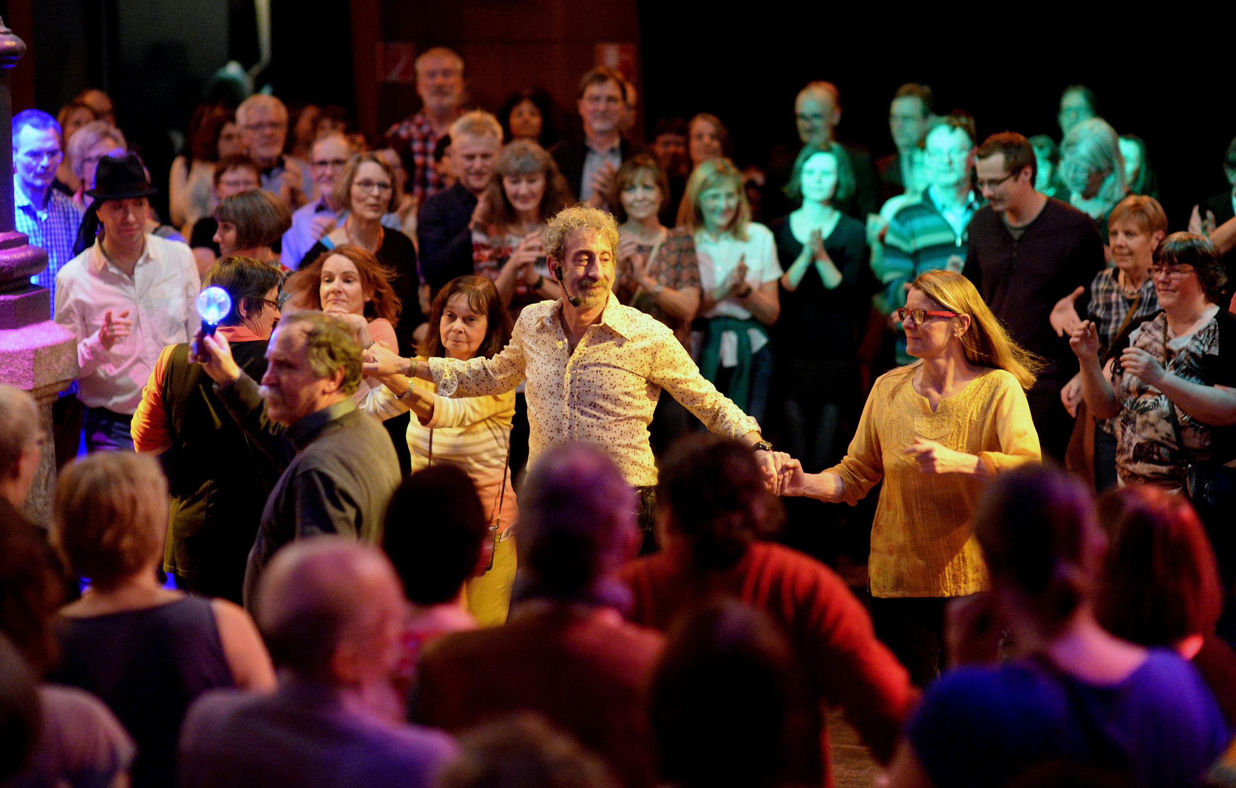 Jiddischer Tanz. Foto: Hans-Joachim Winckler