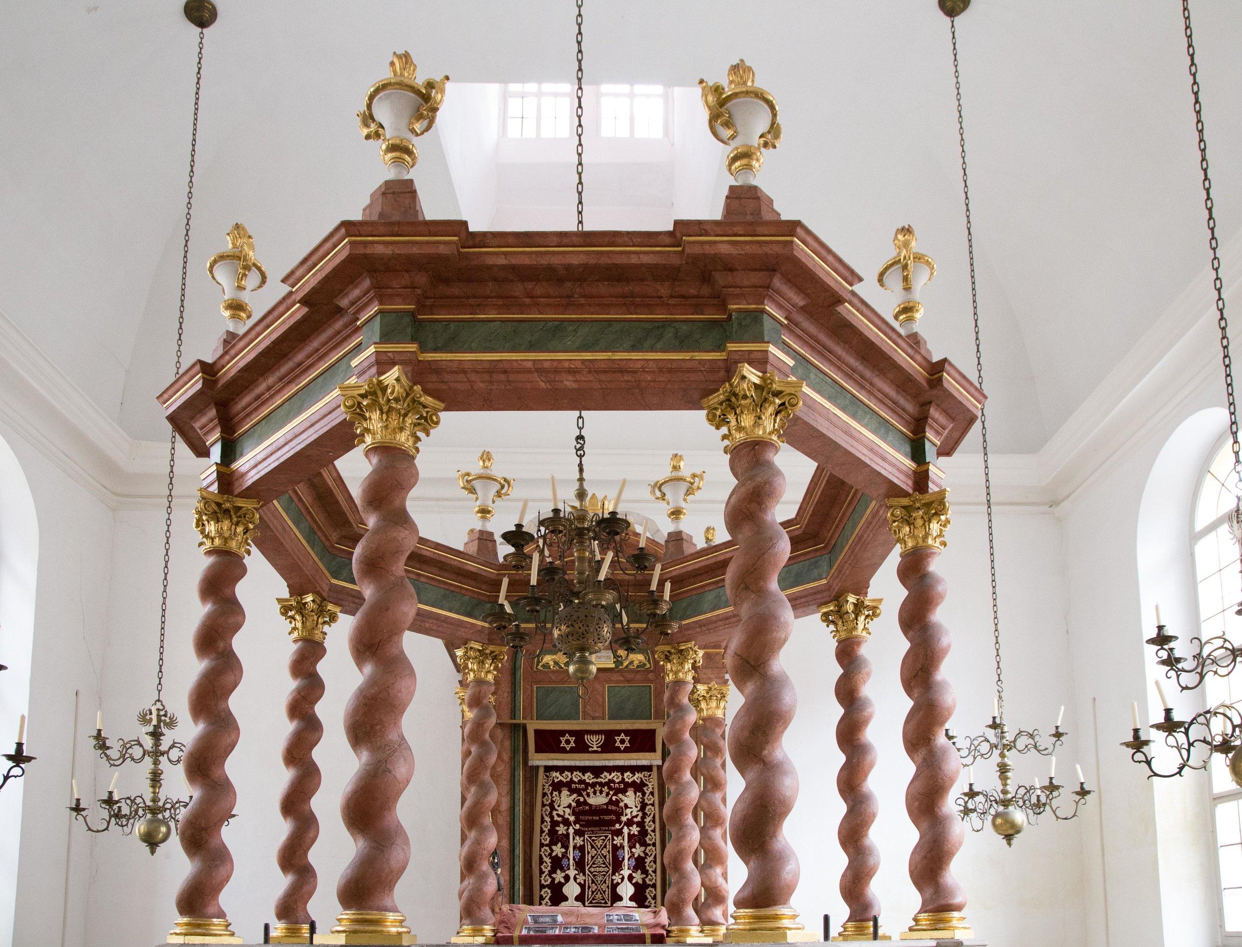 Synagoge Ansbach. Foto: Alexander Biernoth