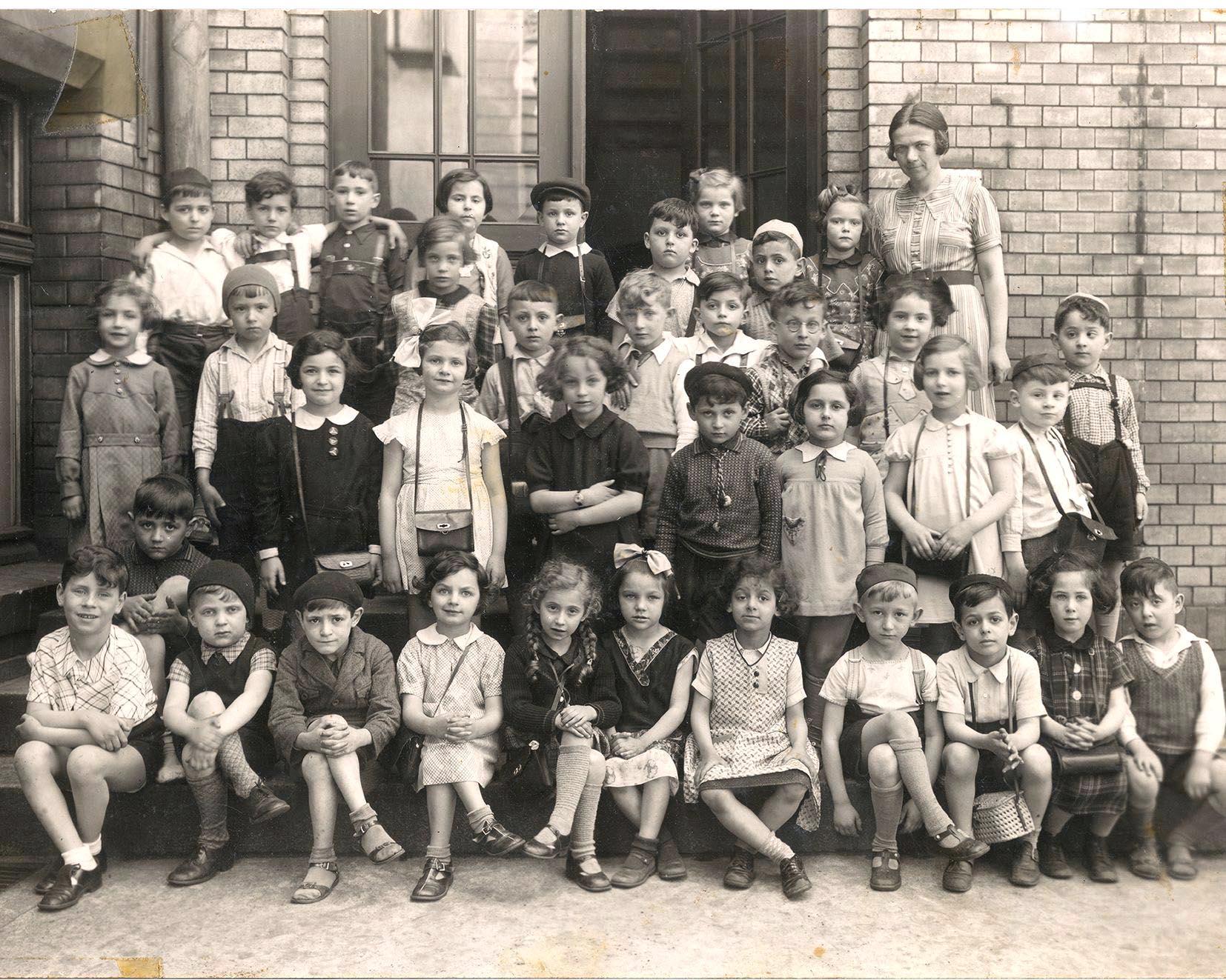 Breslau, Jüdische Schulklasse 1938. Foto: Filmhaus Nürnberg
