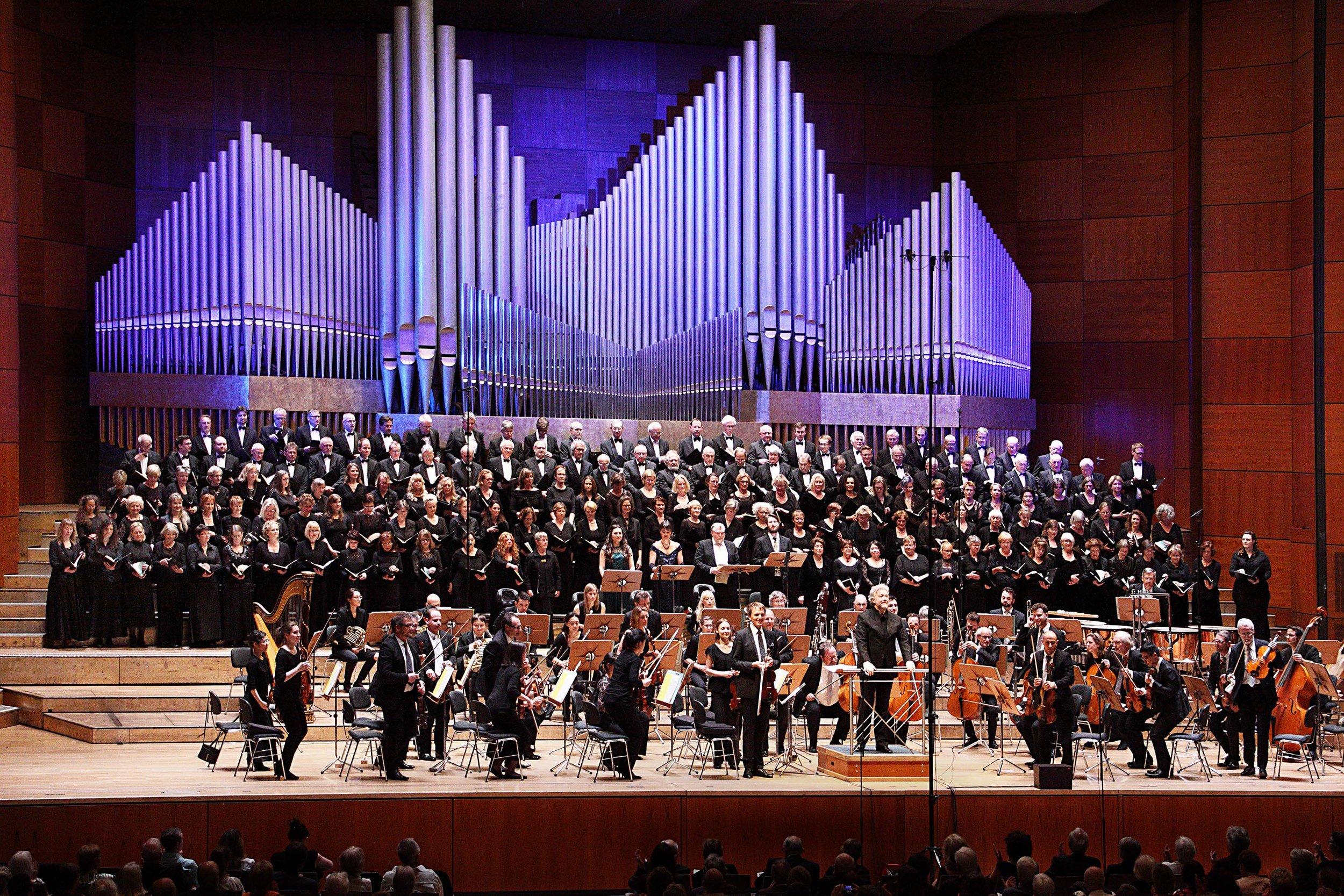 Hans-Sachs-Chor Nürnberg November 2017. Foto: Dorothea Wenzel