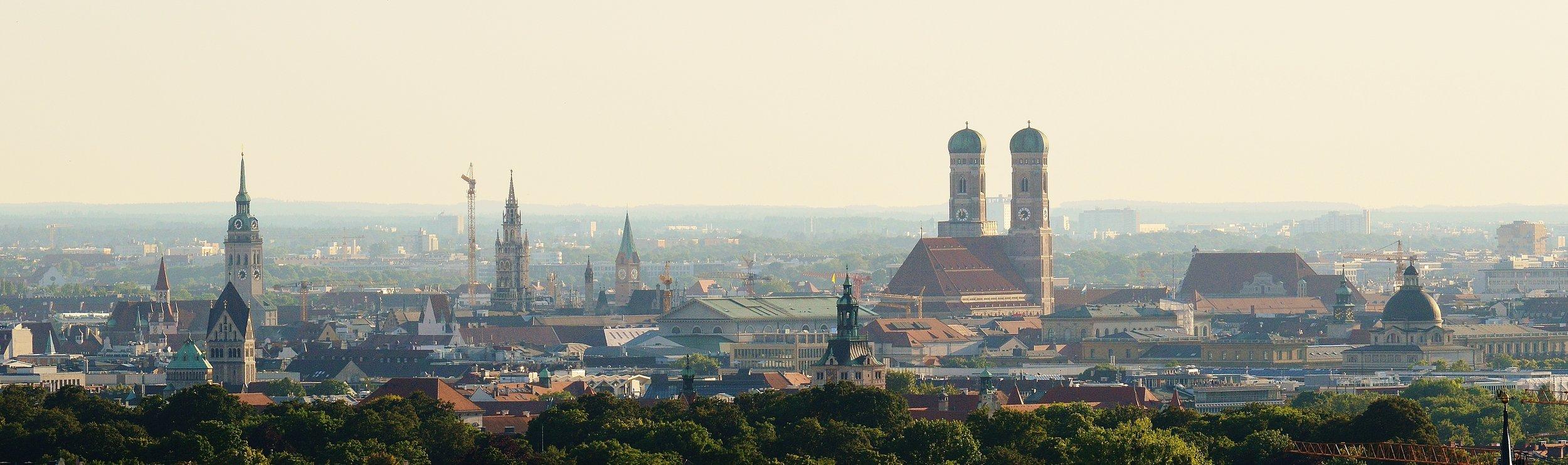 München, Panoramabild