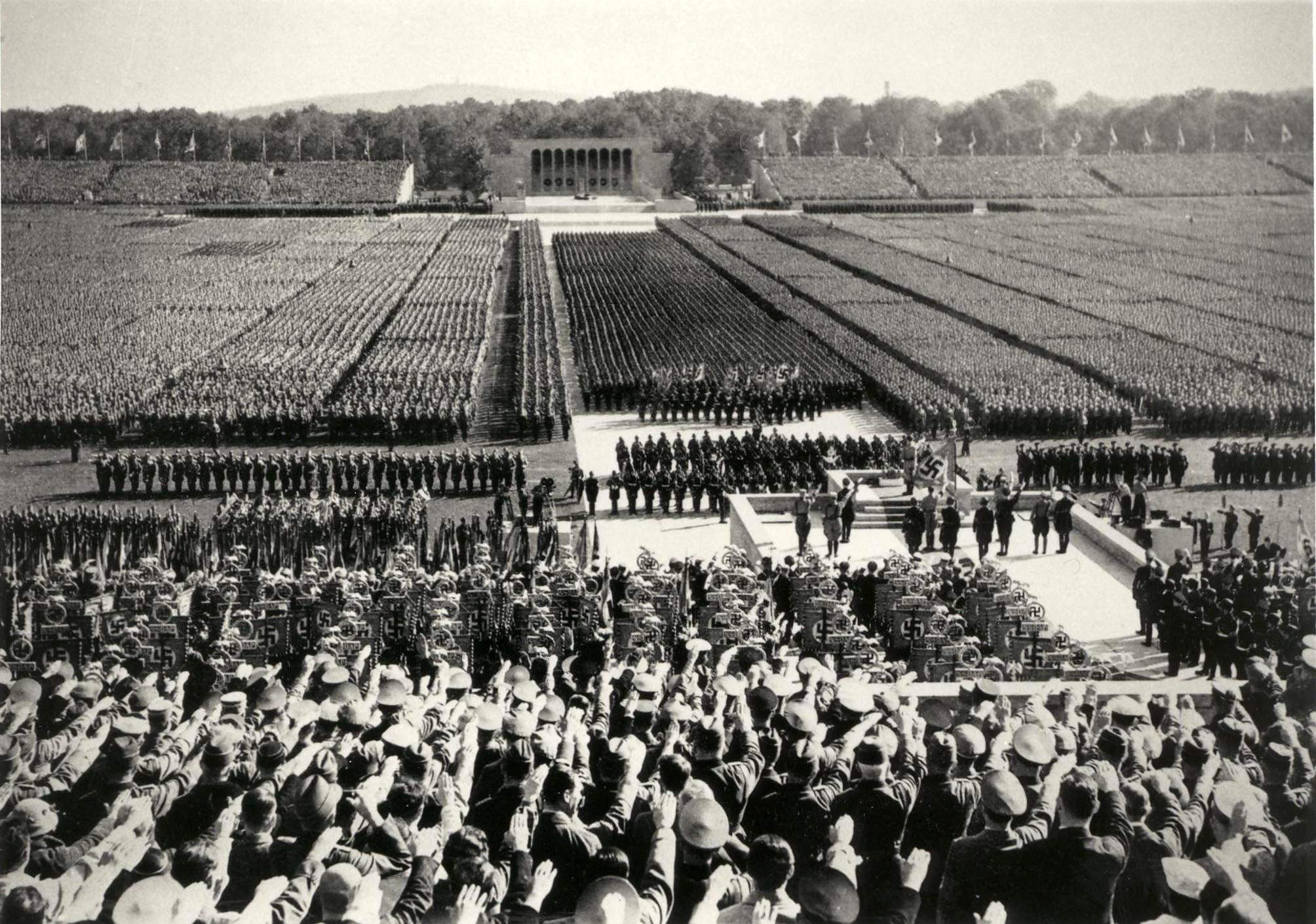 Das ehemalige Reichsparteitagsgelände ist ein Lernort der deutschen Geschichte Foto: Geschichte Für Alle e.V. – Institut für Regionalgeschichte