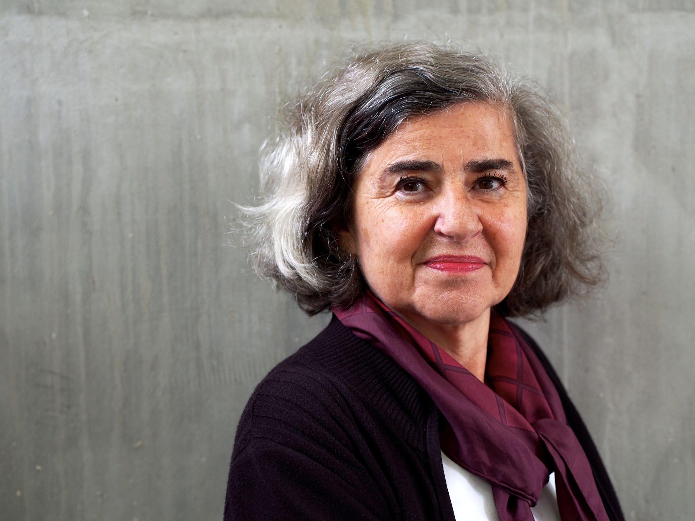 Barbara Honigmann, 2014. Foto: Peter-Andreas Hassiepen