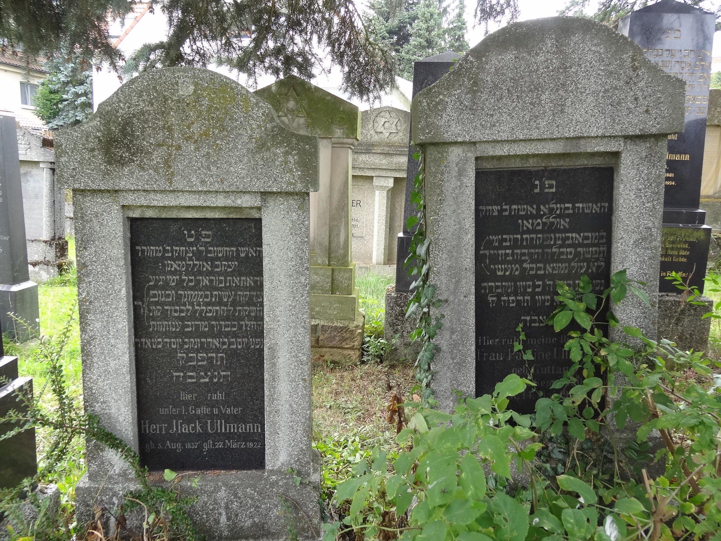 Im Jüdischen Friedhof 3 in Schnaittach. Foto: Birgit Kroder-Gumann