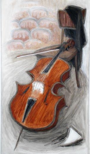 Zeichnung von Helga Hošková-Weissová