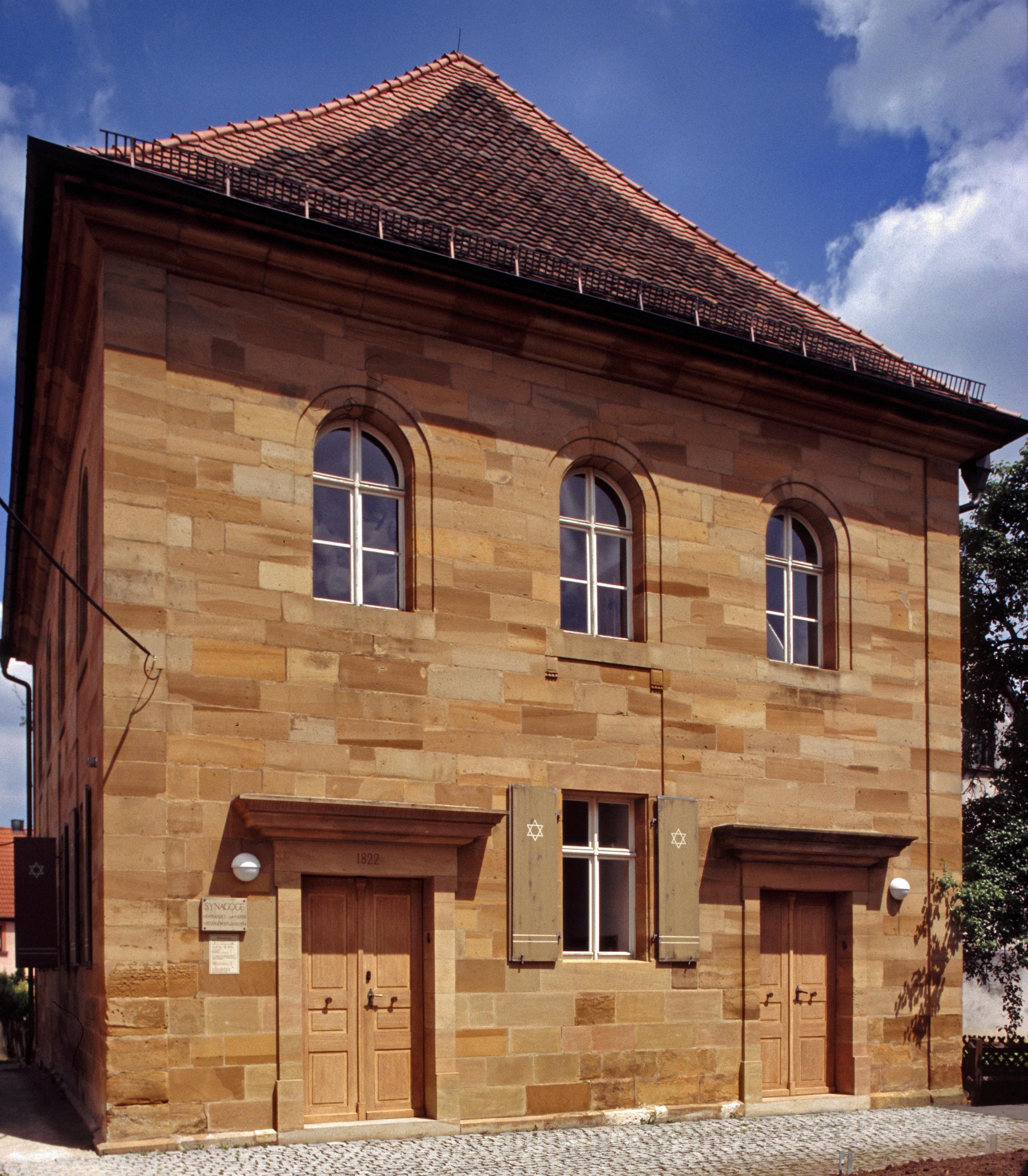 Außenansicht Synagoge Ermreuth. Foto: Alexander Nadler