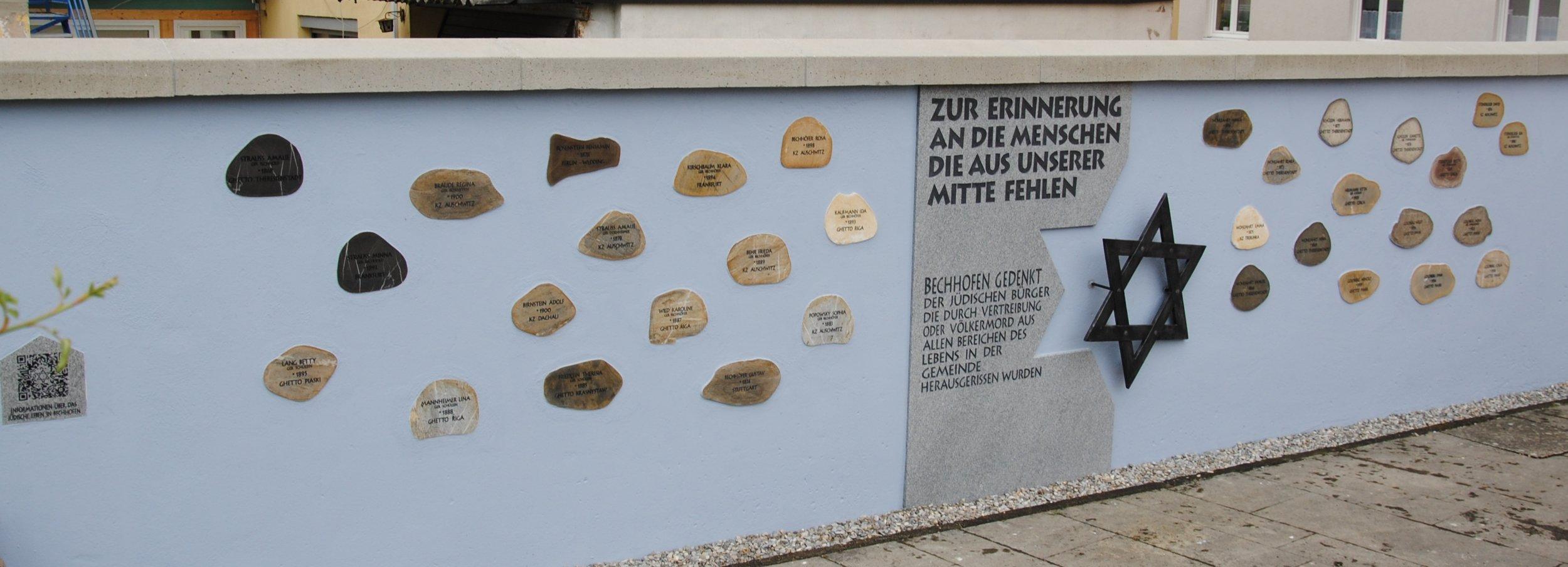 Denkmal Bechhofen. Foto: Claudia Dommel