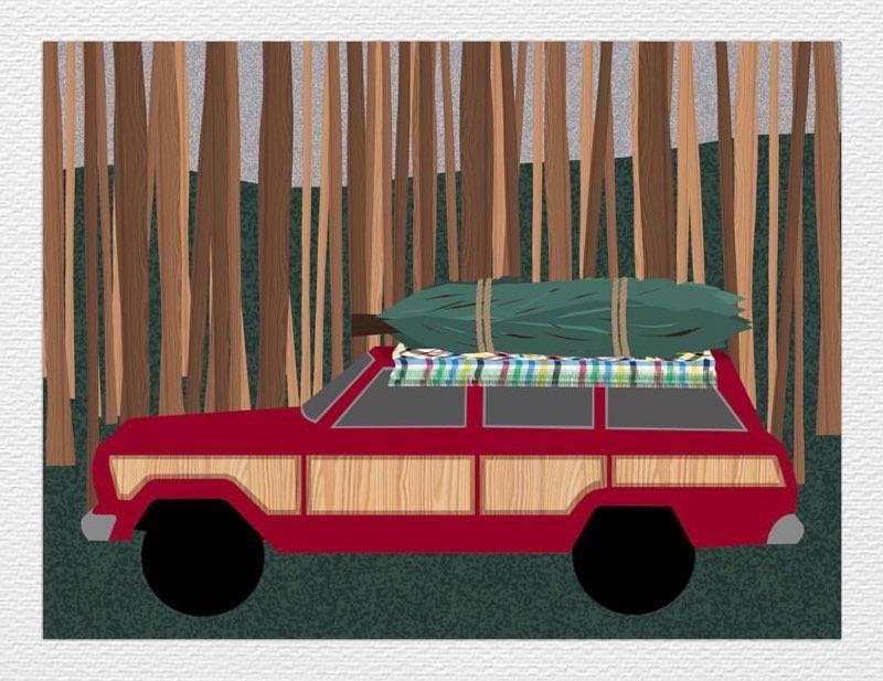 Wagon, ed. 2/10