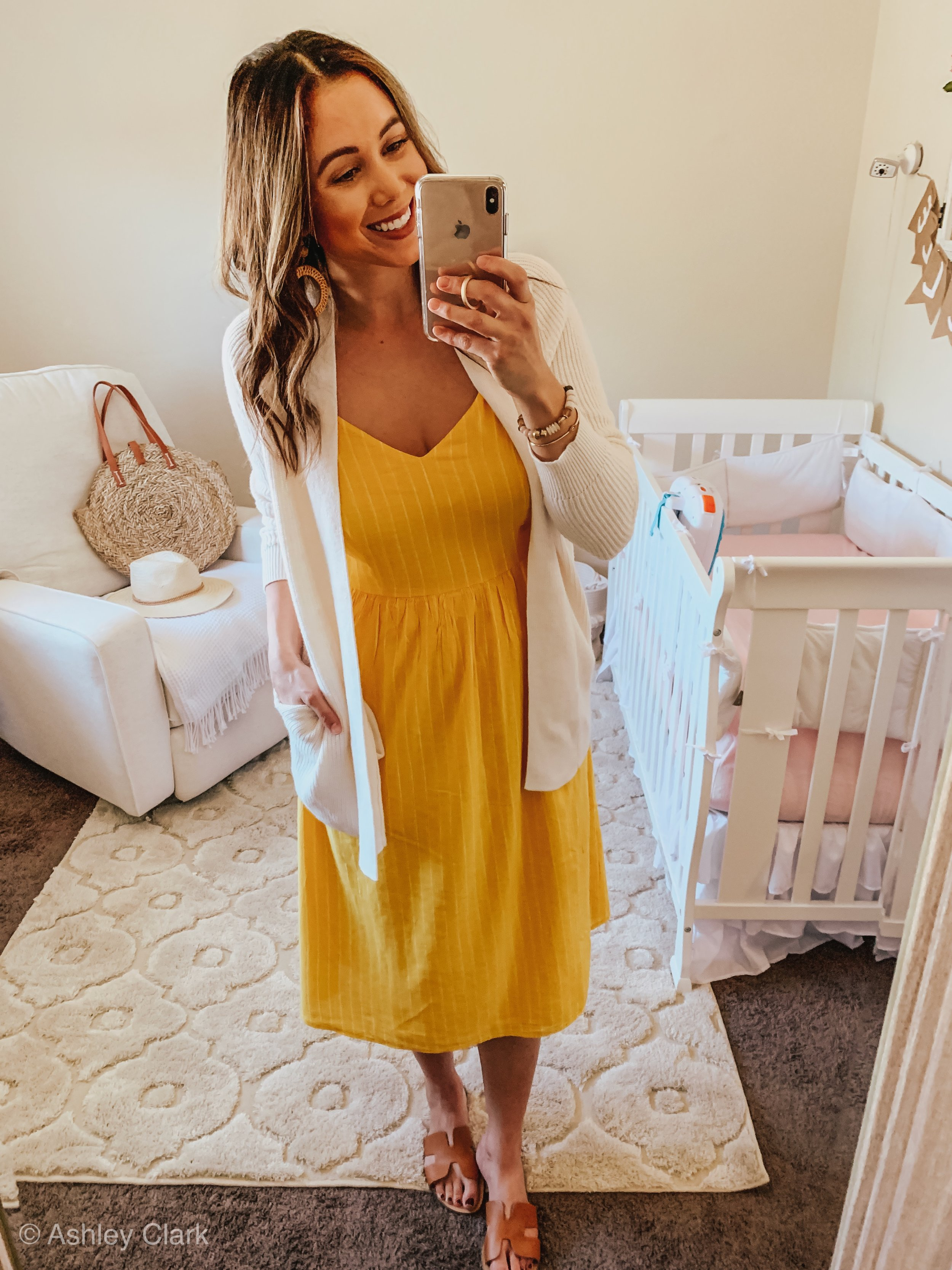 5 ways to style a dress for spring : ashley clark blog