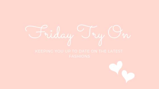 Ashley Clark Blog Friday Try On
