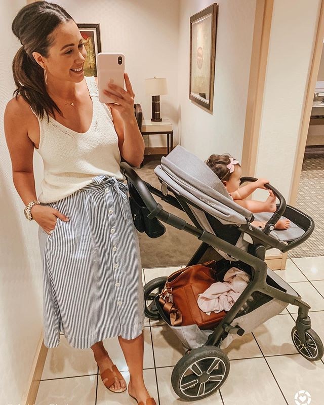 Happy Friday friends!! We are finally getting some cooler temps here in AZ 🙌🏼 Not break out the cardigans kind of temps but I'll take it! ••• Few days ago little A and I went cursing around the mall to make some returns and I cannot believe how fast time has gone by. {swipe left} Not long ago we were a bundled up napping and cursing the mall together. Man I miss those days so badly, I wish in motherhood you could get a one time do over with each kid. Would be so amazing to be able to relive those best memories you had together 😭 What are some of your favorite motherhood memories with your little ones? #motherhoodmoments #momentsofmotherhood @liketoknow.it #liketkit http://liketk.it/2F5XN #LTKbaby #LTKfamily