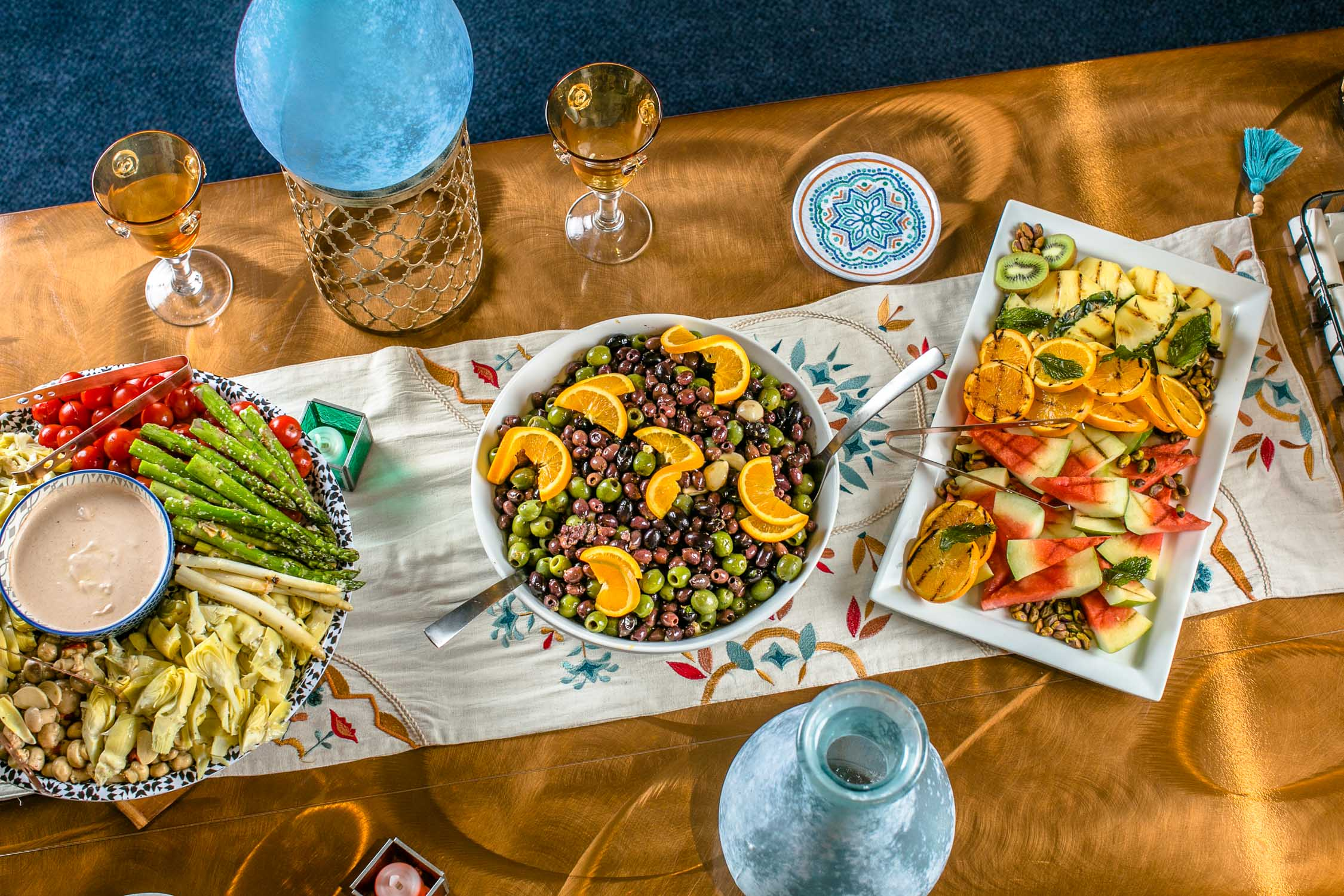 Marquee-Club-Fox-Theatre-Mezze-Table-Appetizers-Erik-Meadows