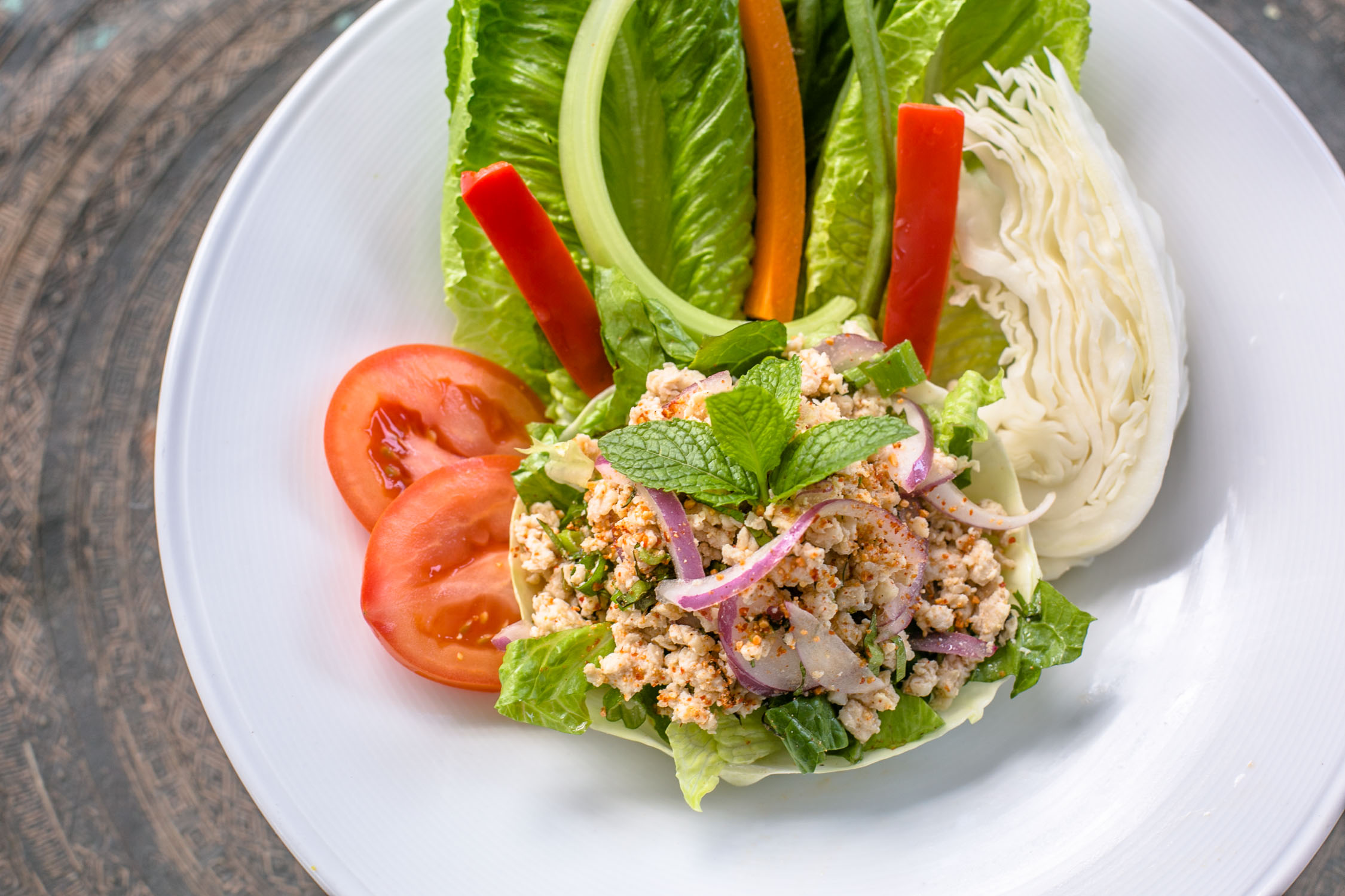 Nan-Thai-Fine-Dining-Larb-Kai-Salad-Erik-Meadows