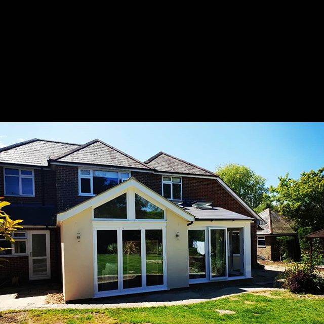 Single storey extension #homeimprovements #extensions #builders #homedesign #building #architects