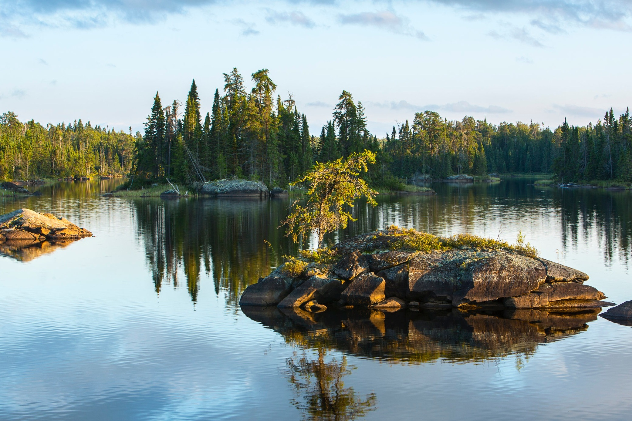 QUETICo provincial Park - The Boundary Waters is not the only opportunity for adventure in the region. With fewer visitors and minimally maintained portages, many travelers venture into Canada's Quetico Provincial Park in search of an even more remote adventure. Learn more about planning a trip to the Quetico.Photo courtesy of Benjamin Olson