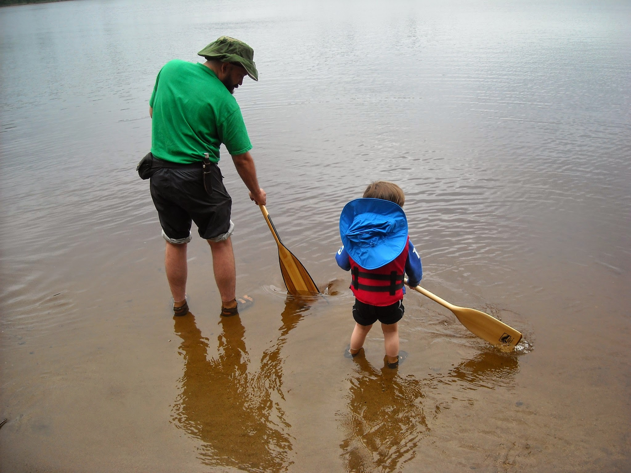 Even without a canoe, sense of adventure and imagination and will get you pretty far.