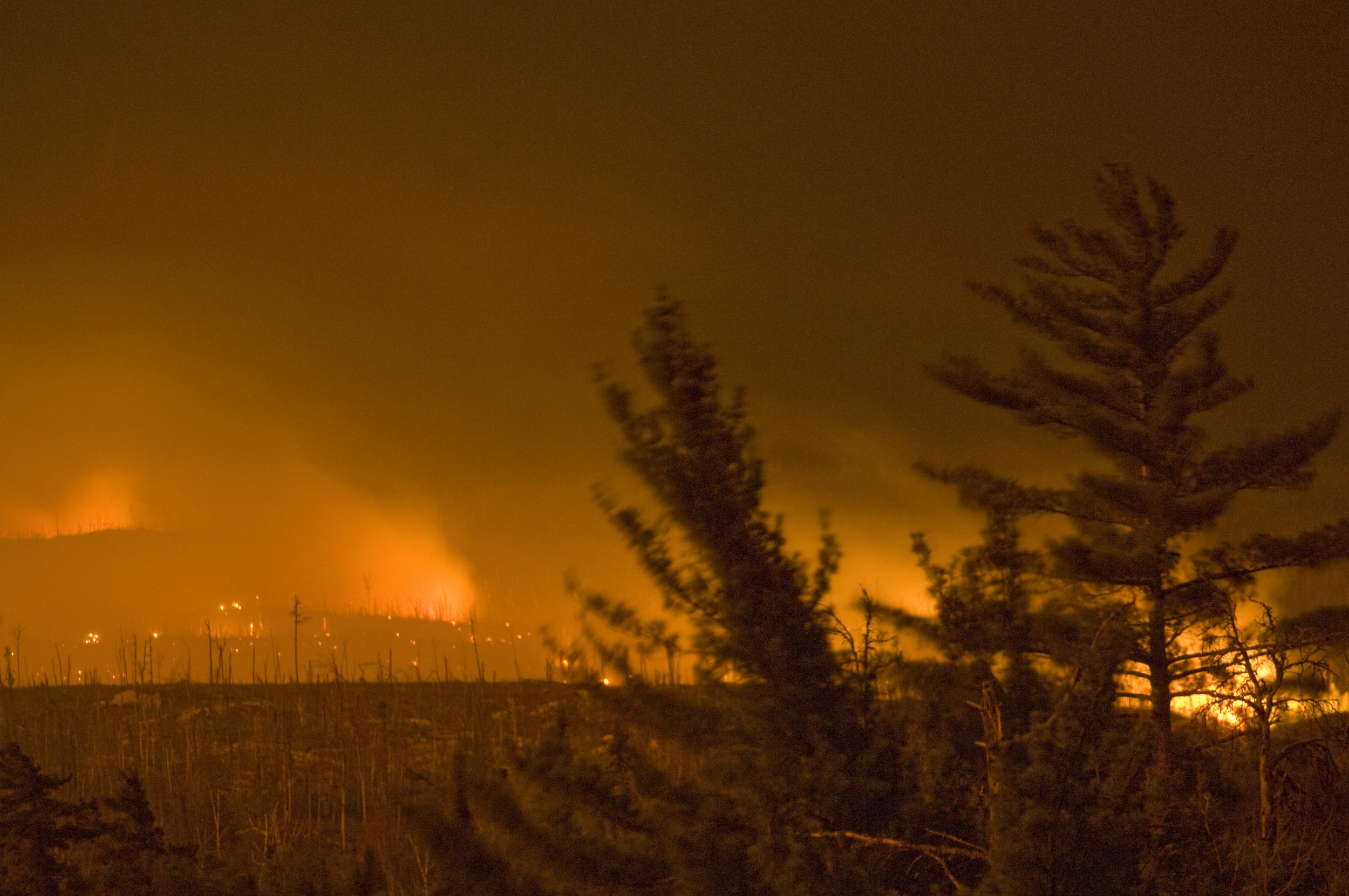The Ham Lake Fire.   Photo courtesy of Layne Kennedy
