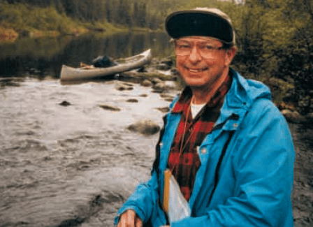 Don Fraser in the Boundary Waters