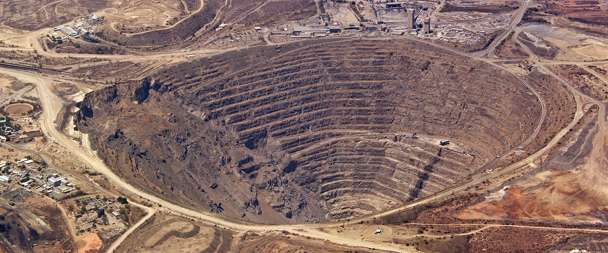 An open pit similar to the one proposed by PolyMet