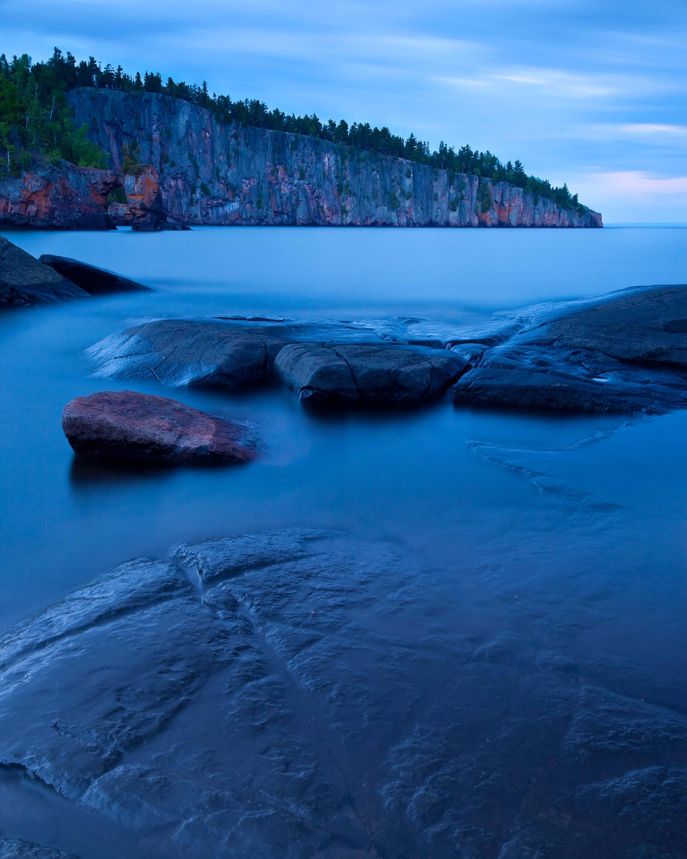 Shovel Point on Lake Superior. Photo: Benjamin Olson