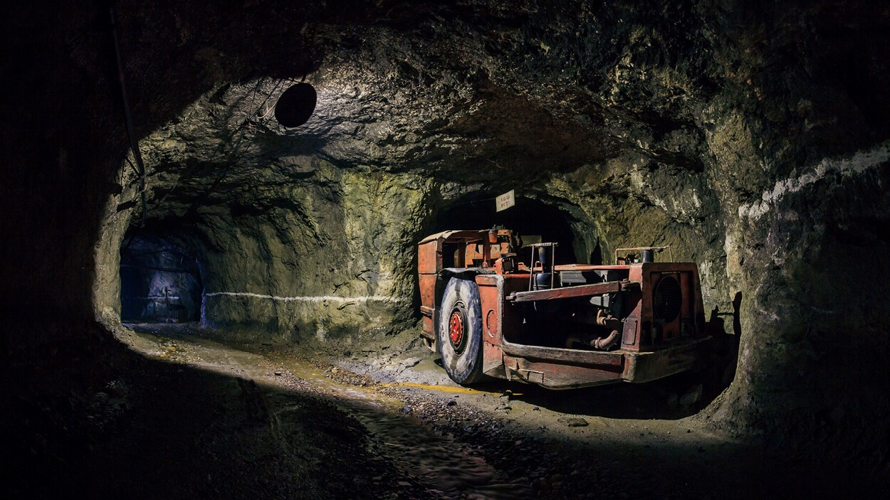 Underground mine, similar to the one Twin Metals is proposing near the Boundary Waters