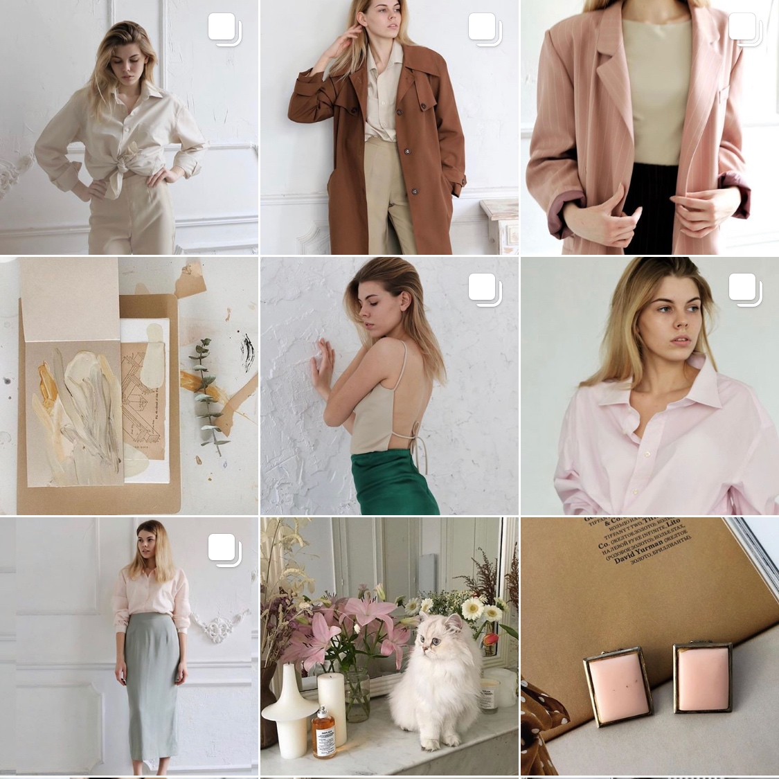 black badlon - Beautiful vintage clothing, beautiful feed and friendly (for vintage) prices. They sell online, you can message them on Instagram to ask about shipping and availability. The cat is not vintage and not for sale, I checked.