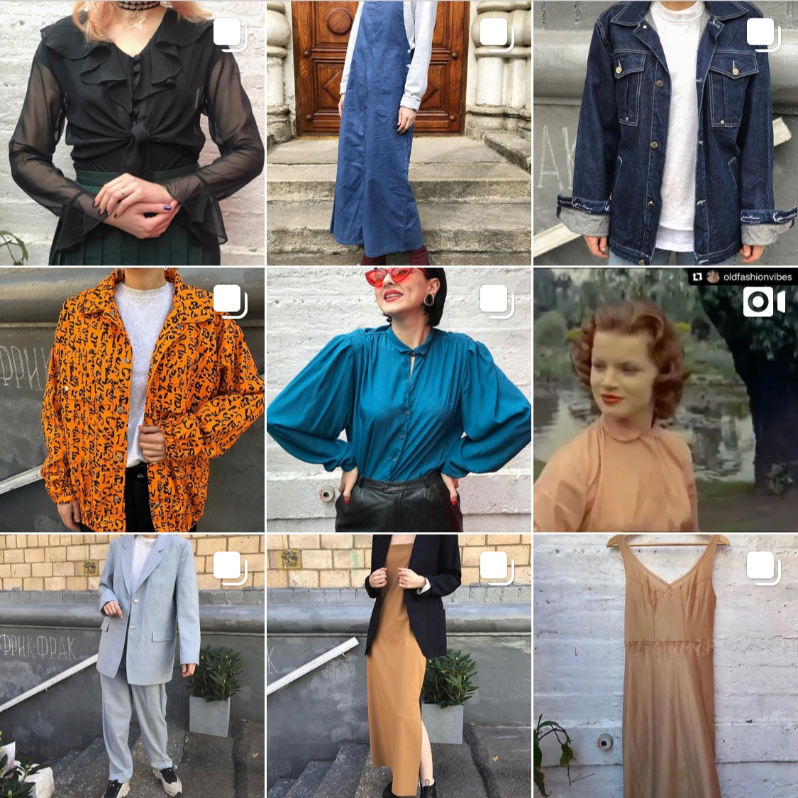 freak frak vintage - Established in 1997! 12000 of hangers of selective vintage clothing! A lot of prints, a lot of colour, but they carry good denim, blazers and blouses. That's basically all I need. The shop is big, get a bottle of water and a jar of patience: somewhere in that organised mess is your vintage souvenir from Moscow.