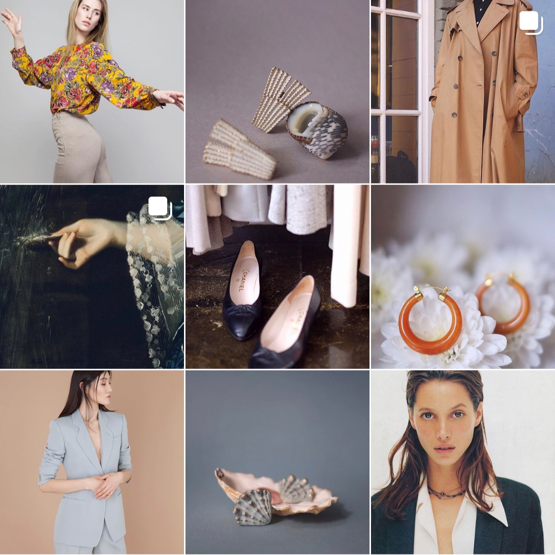 mix & match vintage - 'Showroom of selective clothing for aesthetes and hedonists'Mix & Match Vintage offers modern-looking pieces and accessories. The shop was featured in various Russian magazines: Wonderzine, Blueprint and even Harper's Bazaar. Well, I see why!
