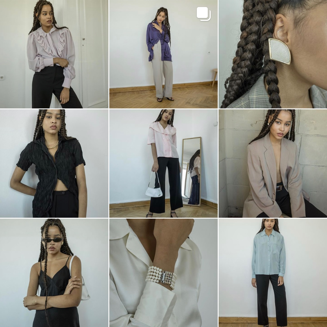 total vintage - I see quite a few followers of mine already follow this Moscow based vintage shop. No wonder - they ship online and offer 10% off first purchase. Total Vintage is also right where I used to live. I start getting a bit FOMO here!