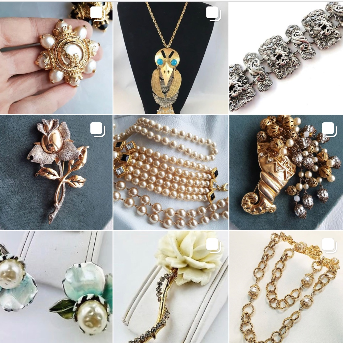 Vintage Atelier - Vintage jewellery, ladies and gentlemen! The shop has some very stylish earrings from Oscar de la Renta, Givenchy and Dior. And most of them are under $100! Which is not much for a vintage pair of earrings from a famous fashion house, don't you think?