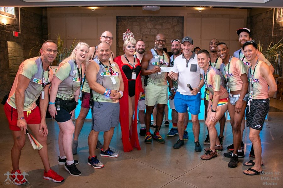 The 2019 PRIDE RUN raised a record $21,000 to fight the HIV/AIDS crisis in Atlanta!