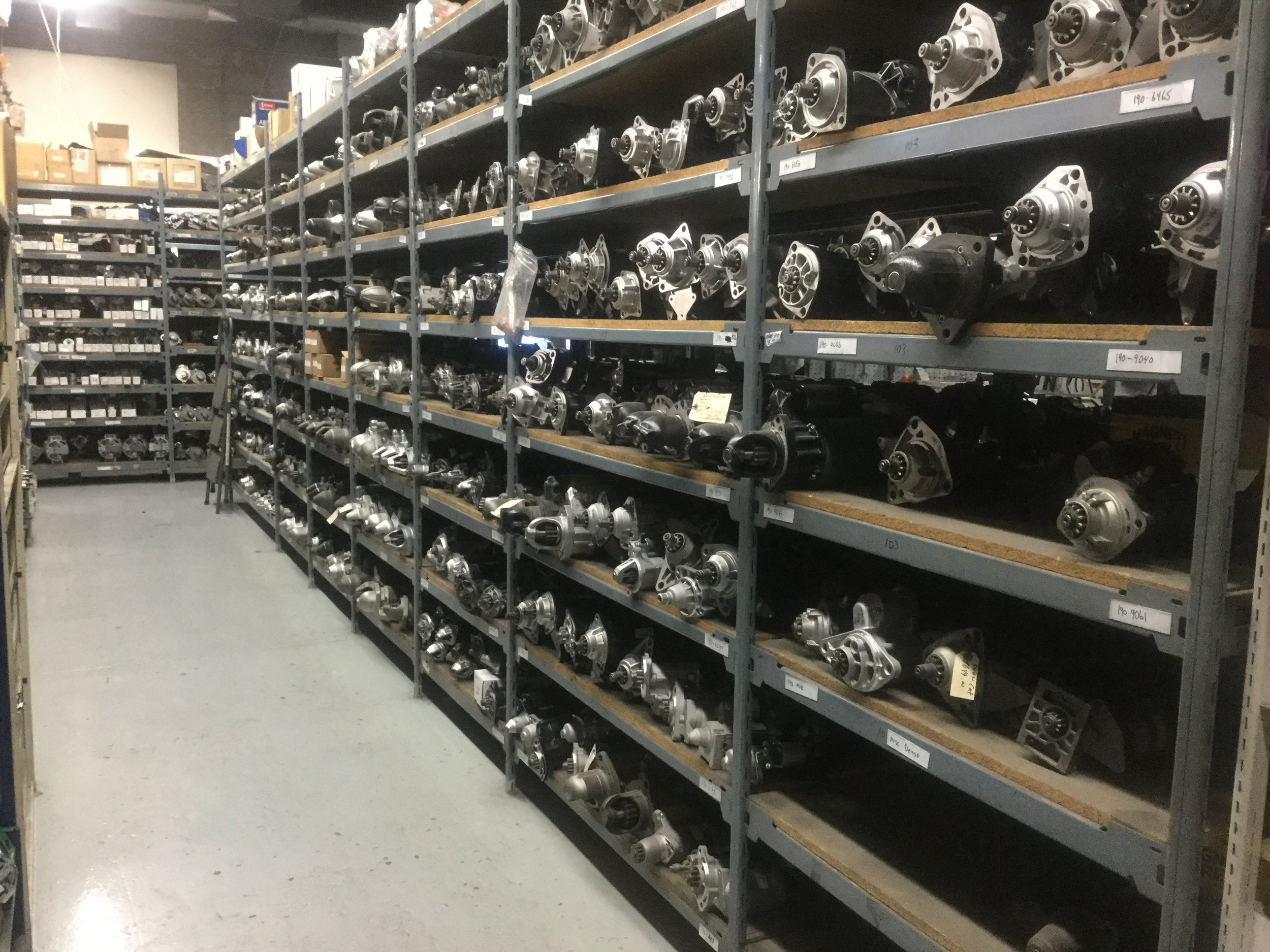 We can repair your starter motor to get you up and running fast, or do a full rebuild that will last.