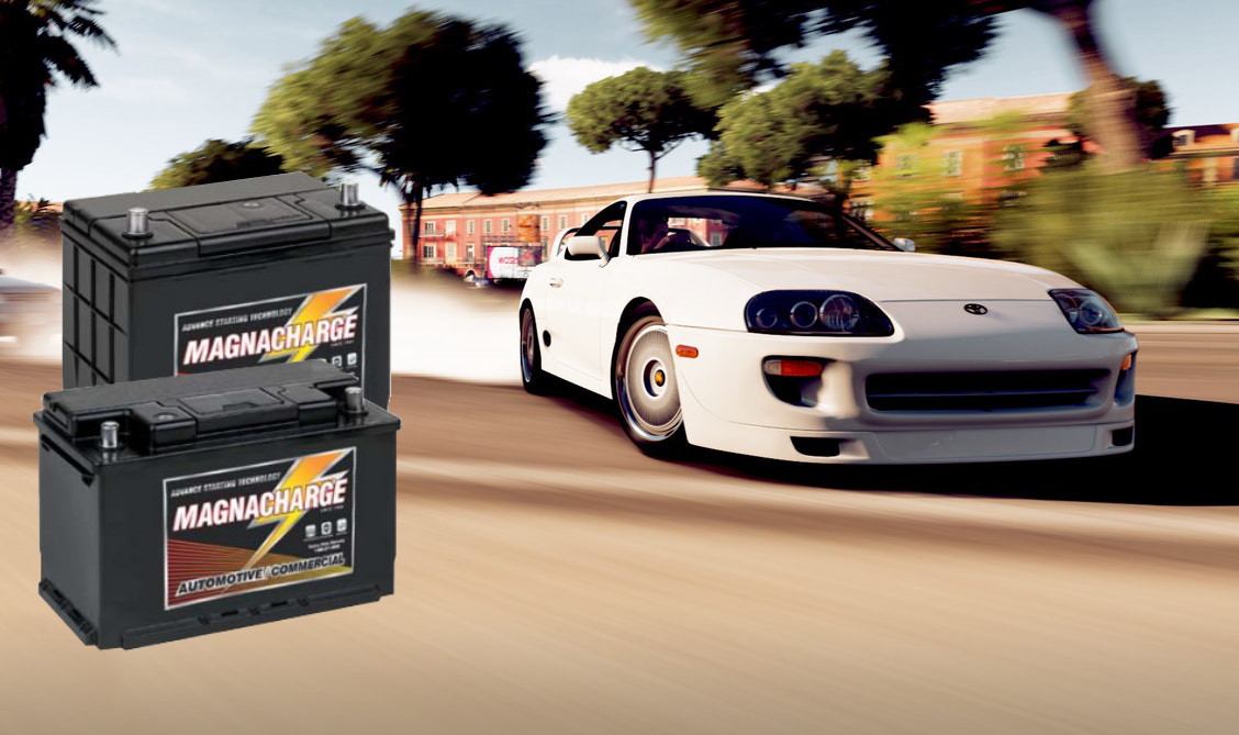 - Need an AGM battery for your race car? How about a strong battery for your truck? We guarantee to stock the battery you need. All of our Magnacharge batteries come with a dependable warranty.