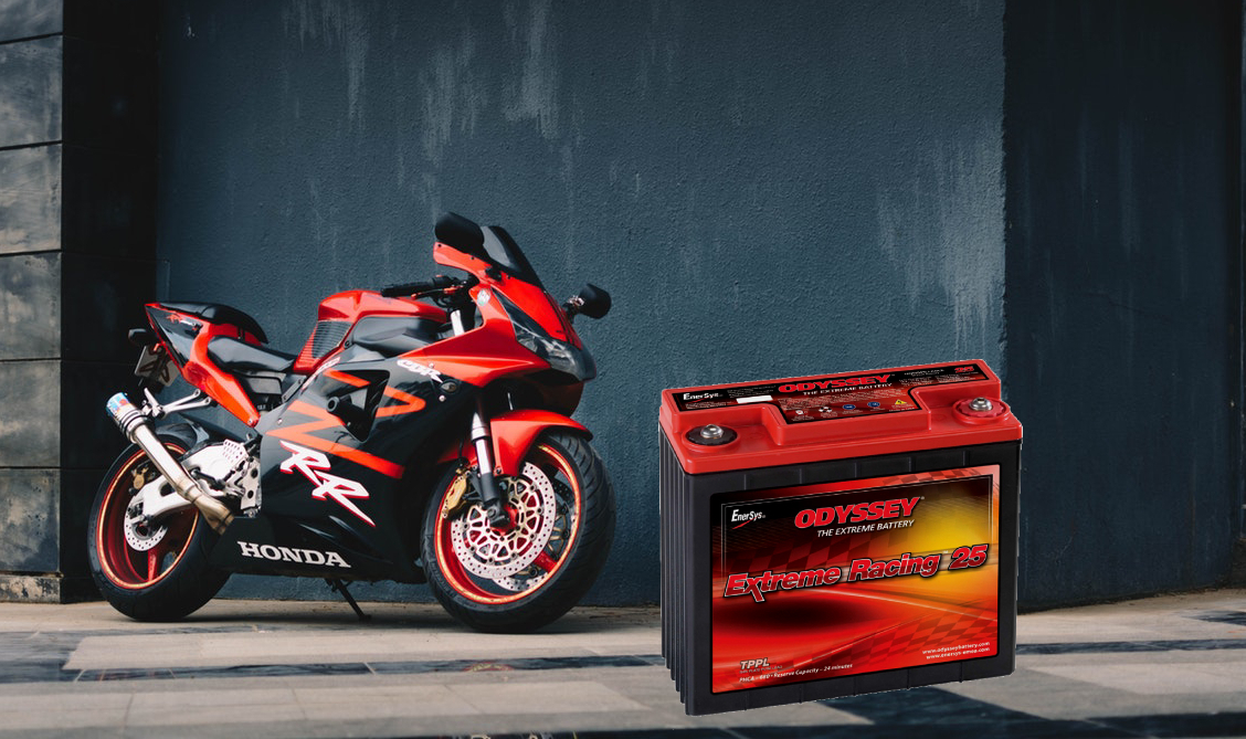 - Bike and ATV batteries are not all made the same. With so many sizes it can be hard to find which one you need. Fortunately, we carry a huge selection of motorcycle batteries, including Odyssey Extreme batteries.