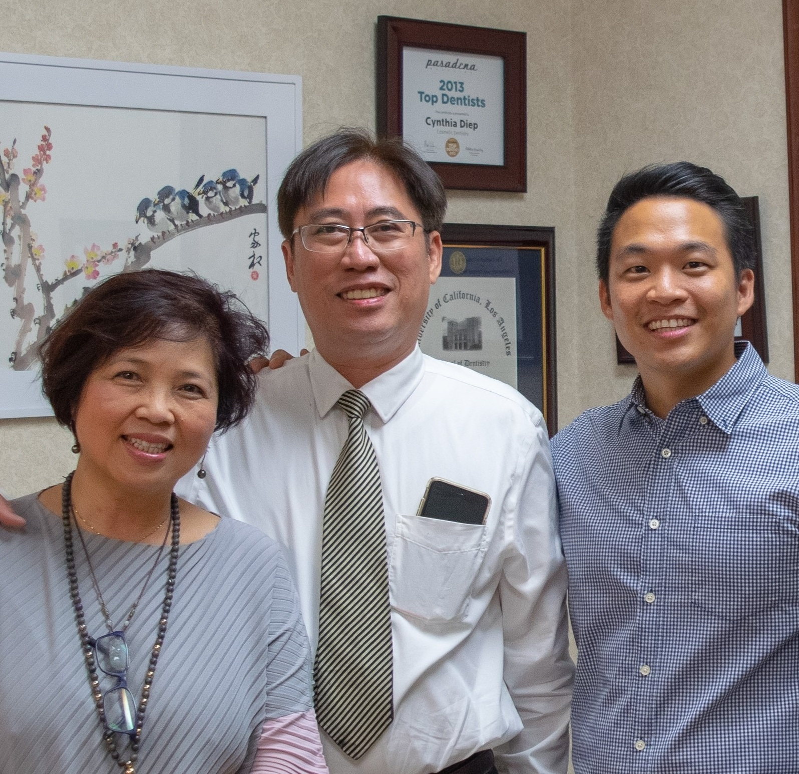 Our Office - San Marino Dentistry has a 40-plus year history of caring for the residents of San Marino. In October 2018, Dr. Jonathan Song bought the practice from retiring dentists, Dr. Cynthia Diep and Dr. Tin-Hoag Nguyen, and can't wait to continue the legacy of the doctors who have served the community in the same location.