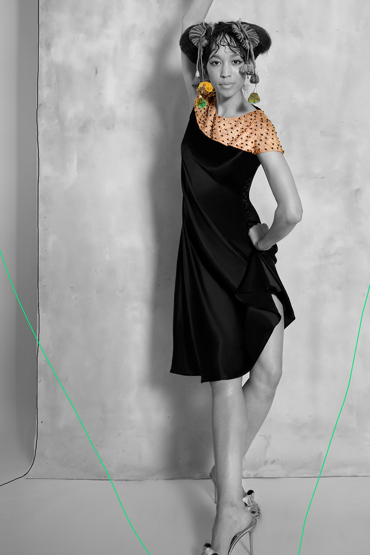 Candela Dress - Black