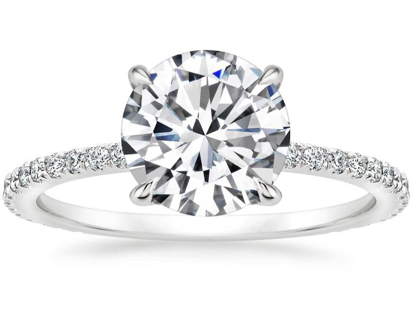 She Said Yes! - Stunning and unique diamond engagement ring designs.