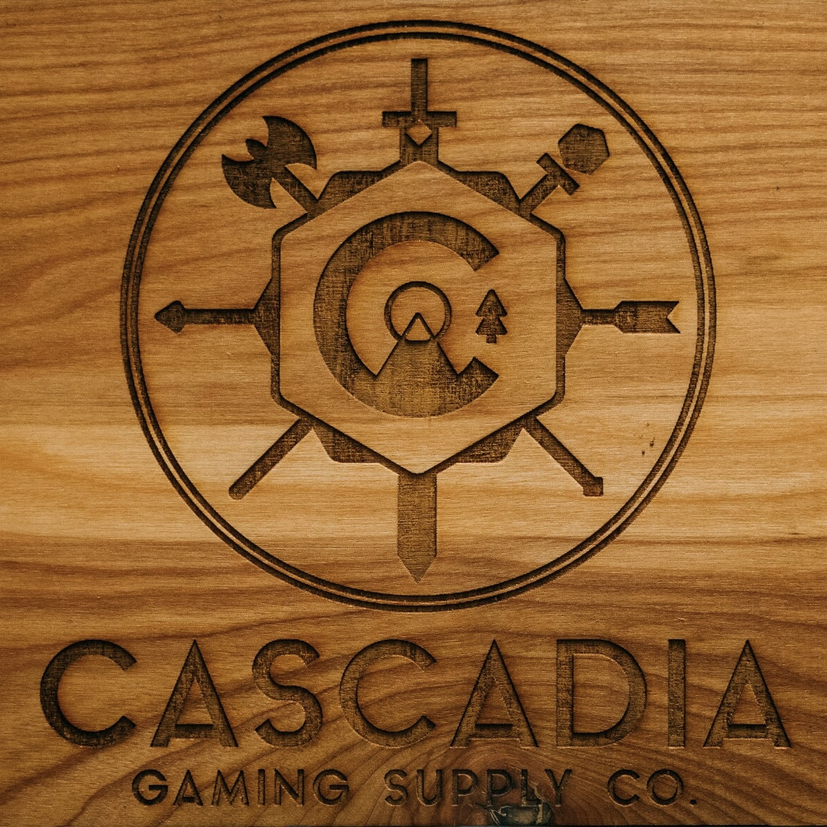 Customization - price variesWe can custom engrave your game master shields and dice coasters… Need something special? Let's talk!