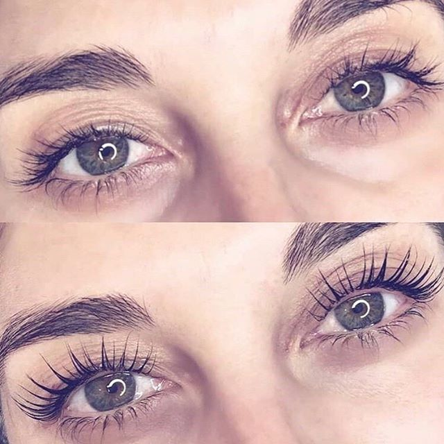 """Beautiful would be an understatement💫 #obsessed Our regular client @1_mccormick 👩🏻 just got her YUMI Keratin Lash Lift with the use of RevitaLash for last 2 months. . . This natural beauty with NO lash extensions❌ NO mascara❌ NO makeup ❌ Just our Signature YUMI Lash Lift + RevitaLash ✅"" - @lashloftnz"