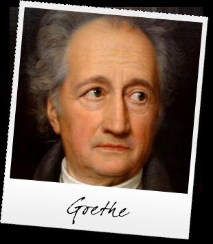 Johann Wolfgang von Goethe  (1749 - 1832) Alemania.