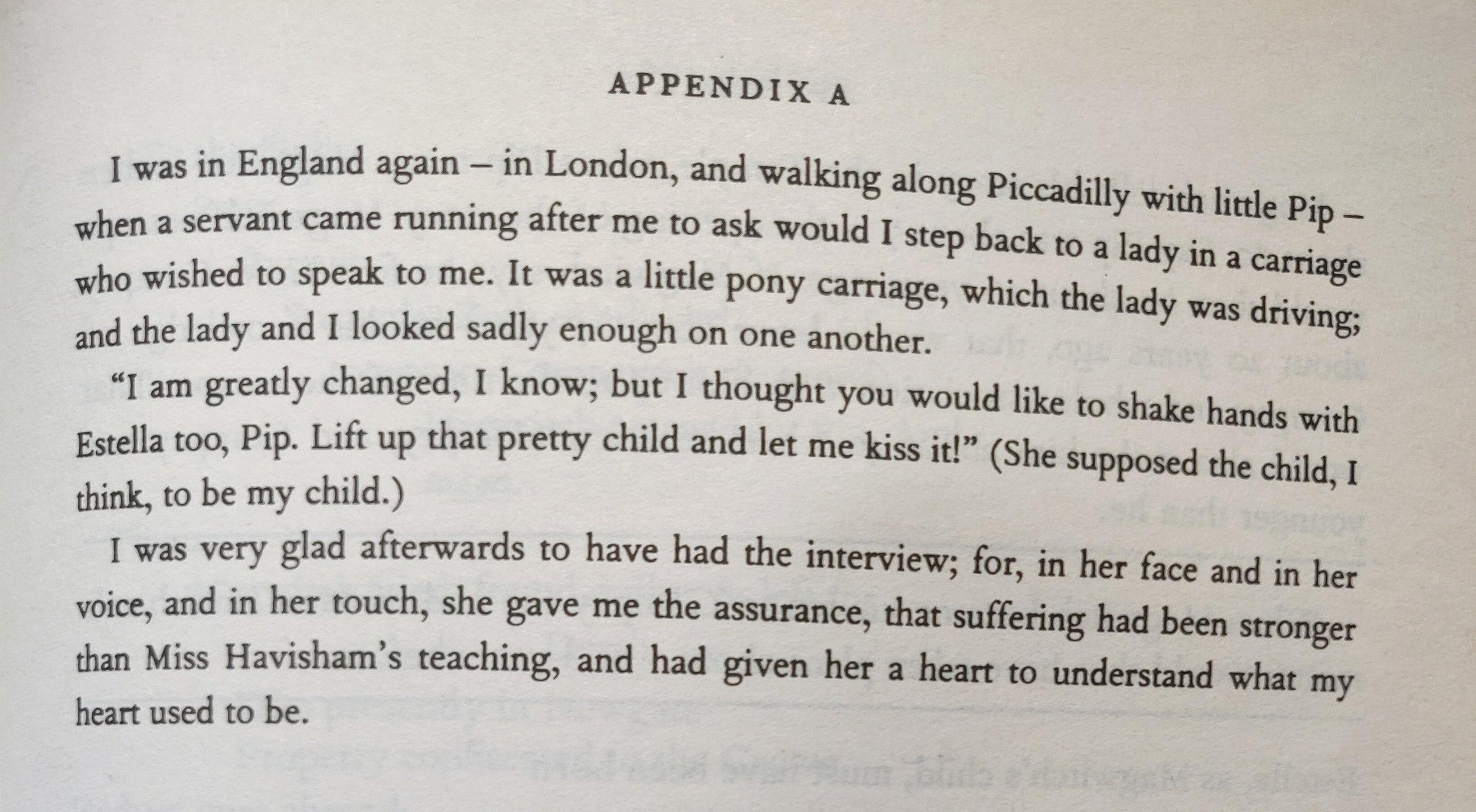 Tomado de la edición en inglés  Great Expectations , Penguin Random House.