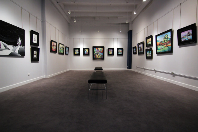 Madron Gallery Justin Vining Exhibit