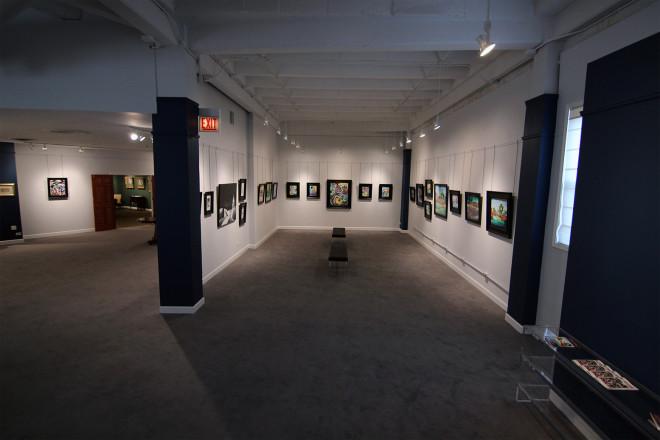Madron Gallery Justin Vining Landscape Exhibit