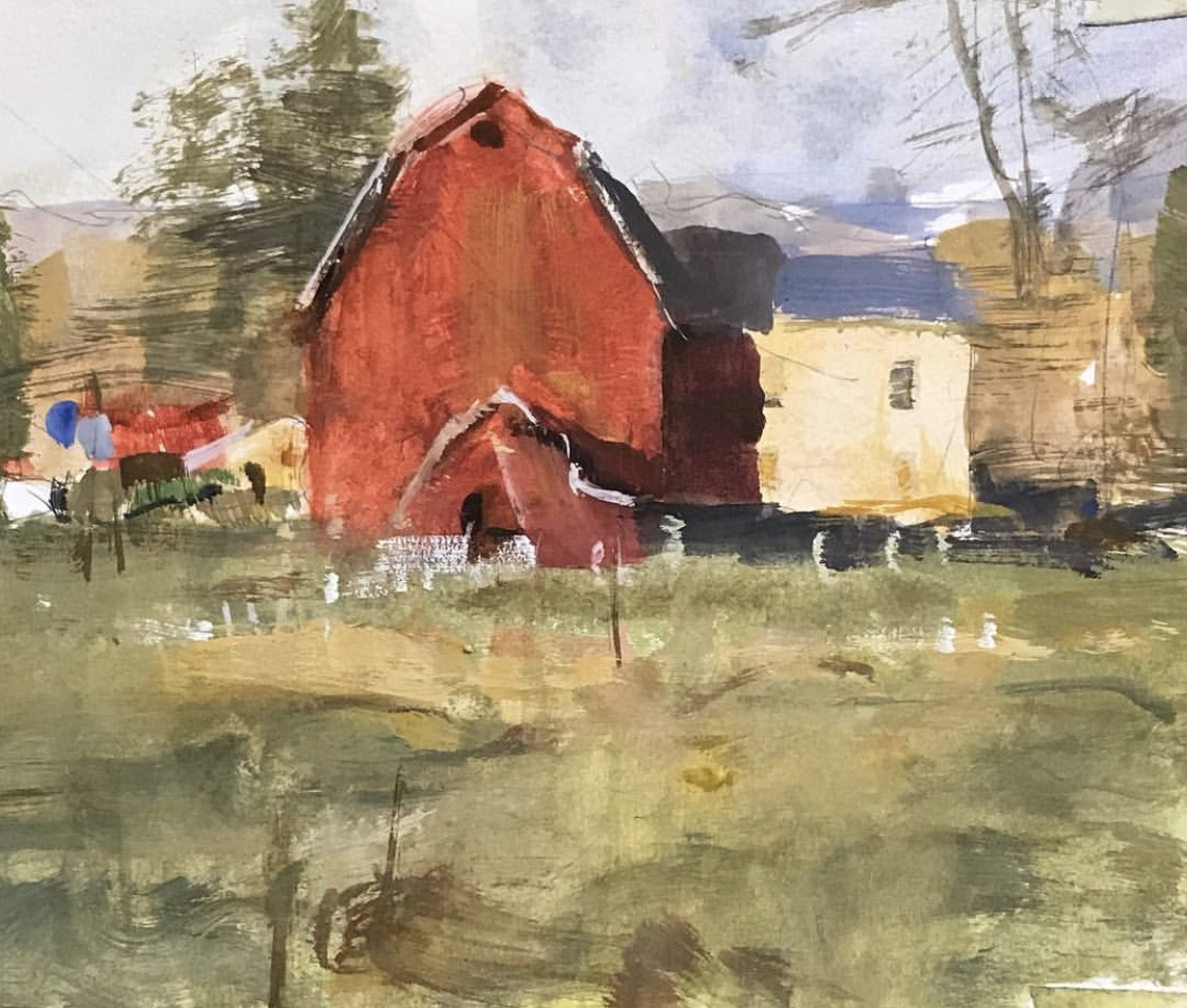 Tad Retz - Vermont Barn.JPG