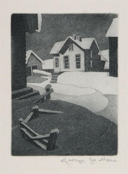 George Jo Mess Snow Drifts 1940.jpg