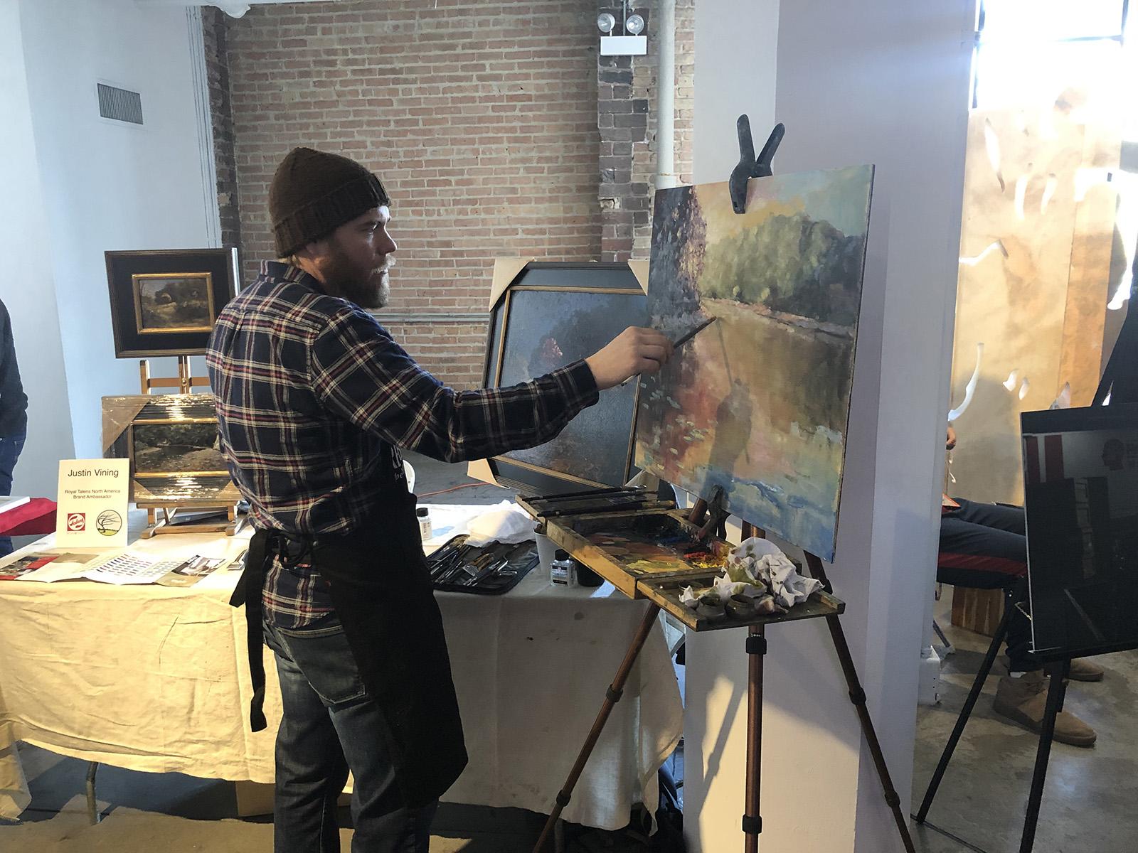Justin Vining Royal Talens Blick Illinois High School Art Exhibition 05.jpg
